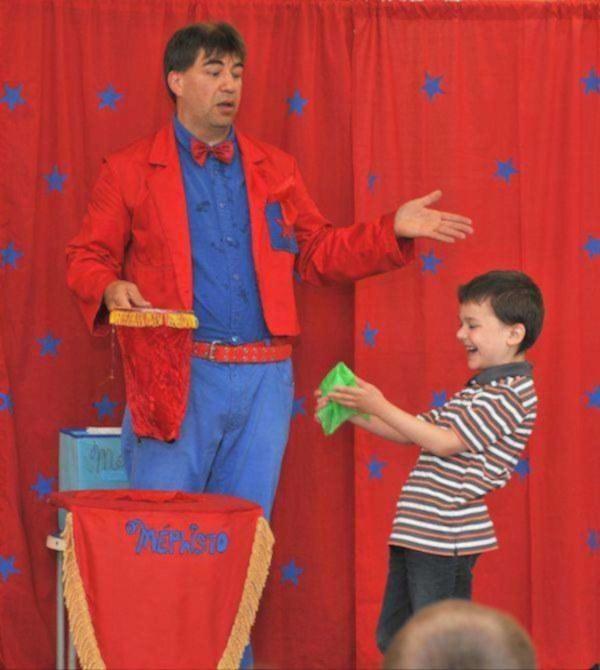 Magicien pour enfants (4 à 10 ans)