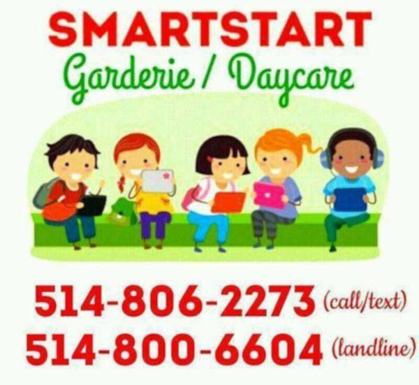 Garderie smartstart / smartstart daycare. location cote des neiges