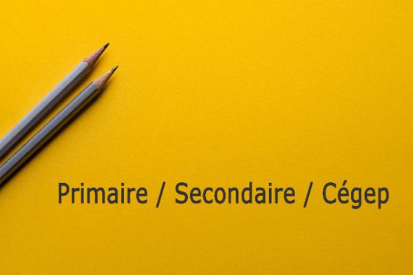Tutorat/aide aux devoirs : primaire,secondaire,cégep