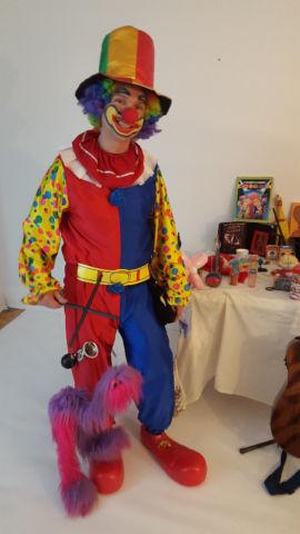 Clown pour fêtes d'enfants granby