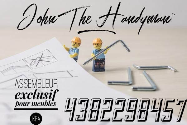 Handyman assemblage ikea renovation peintre résidentiel 24 /24