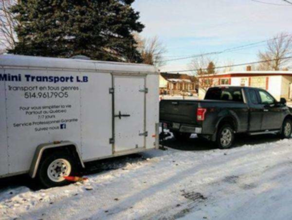 Mini transport l.b. :transport en tous genres.