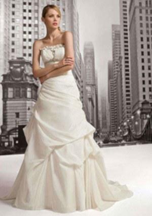 Robe de mariée marily et décoration de salle