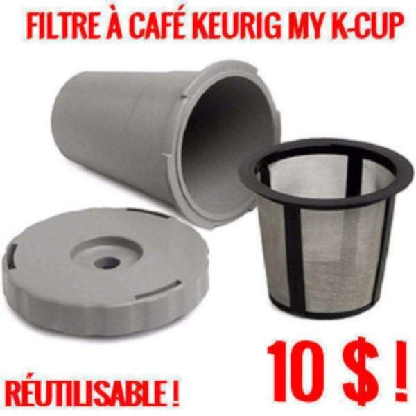 publiez vous keurig my k cup filtre caf r utilisable produit neuf. Black Bedroom Furniture Sets. Home Design Ideas