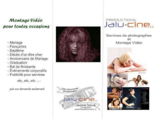 image annonce Service de montage vidéo professionnel à Laval
