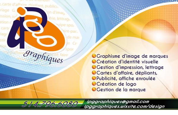 image annonce CrÉation d'image de marques - IPG graphiques - Terrebonne