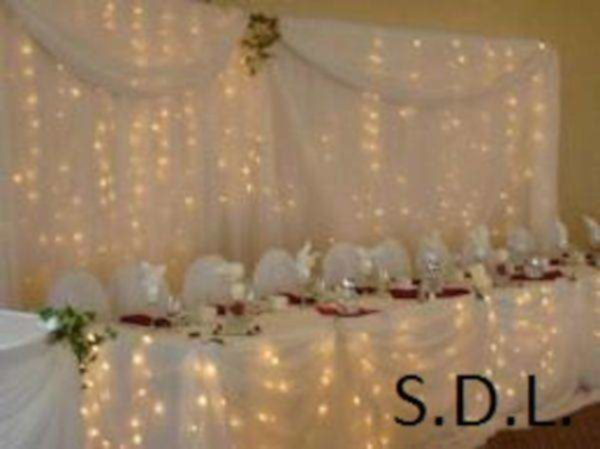 Déco de fête à saint-bernard-de-lacolle | déco de fête | location d'article de décoration de salle pour événement - brossard