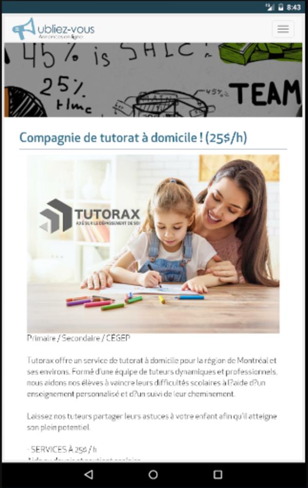 image annonce Conception de site Web | Création de site Web à Joliette Création de site Web, MySTiKSEO