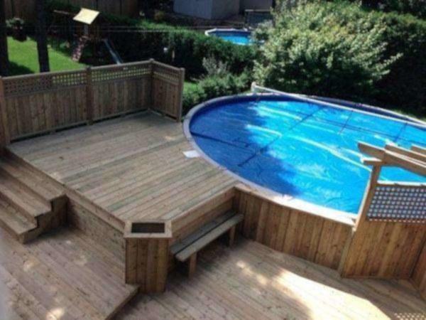 image annonce Construction et design de patios pour maison, spa, piscine etc