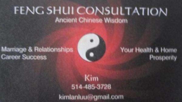 Consultation feng shui