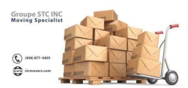 image annonce Service professionnel de déménagement et livraison