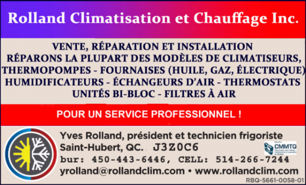 Service / reparation chauffage / climatisation / thermopompe