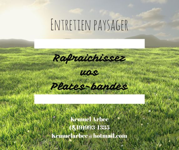 image annonce Entretien paysager