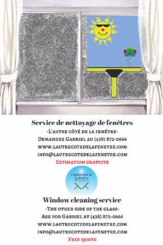 Nettoyage de fenêtres - lavage de vitres