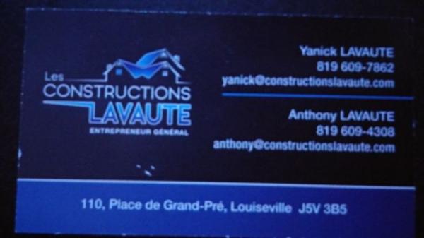 image annonce Construction rénovation maison - Entrepreneur résidentiel