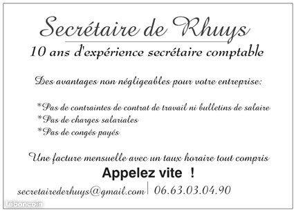 image annonce Secrétaire de Rhuys