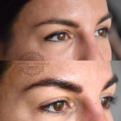 Maquillage permanent à 50% / microblading 200$ - mirabel