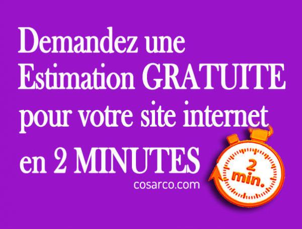 Cosarco - création de site web - estimation en 2 minutes - montréal