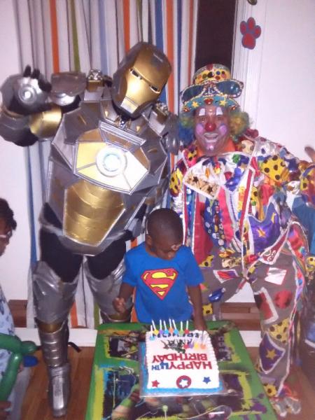 Clown à montréal clown fête d'enfant $$ rabais $$ de $15.00 faut voir……