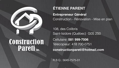 Construction générale à saint-isidore | entrepreneur général gypse cloison sous-sol