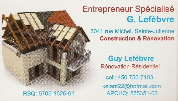 image annonce Rénovation résidentielle à Sainte-Julienne | Entrepreneur en Rénovation & Garage, dans Lanaudière