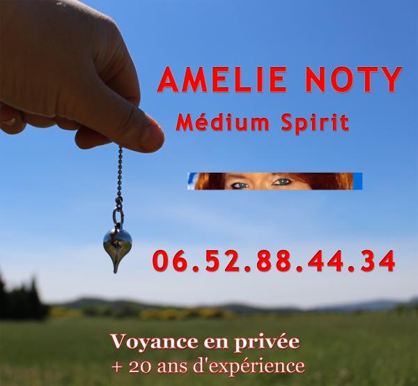 image annonce Medium à  | Medium à  | Medium à  Amélie Noty médium pure consultation à partir de 15 €