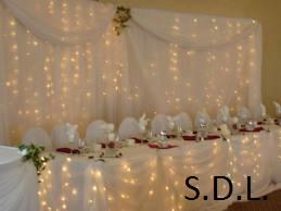 image annonce Déco de fête à Saint-Bernard-de-Lacolle | Déco de fête à Brossard | s.d.l. décoration événement mariage fête party de toute sorte