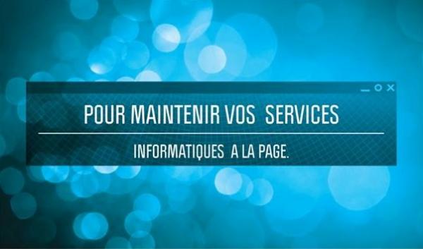 image annonce MAINTENANCE INFORMATIQUE ET TÉLÉCONSULTATION