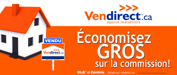 Vendirect.ca des taux a partir de 1% de commission