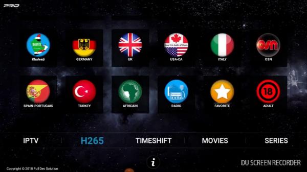 Abonnement iptv (chaines tv sans parabole