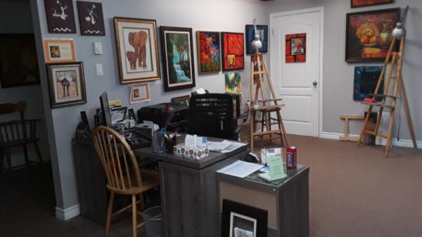 Cours de peinture à l'huile, acrylique. sainte-marthe-sur-le-lac