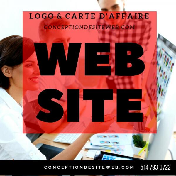 Création d'un site web, conception d'un site web, graphiste