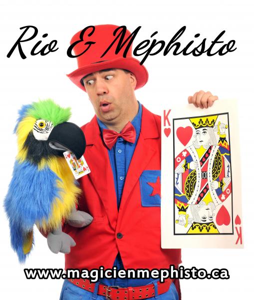 image annonce Animation party à Joliette Méphisto le Magicien dans Lanaudière