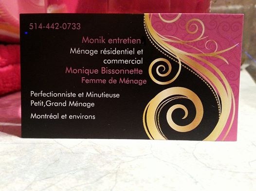 Entretien ménager       anjou / tétraultville / rosemont / outremont