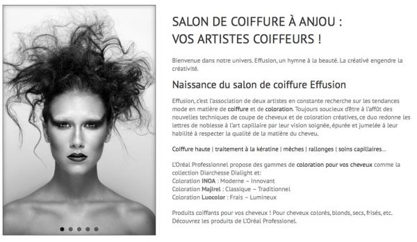 image annonce Barbier / Coiffeuse à Montreal Salon de coiffure Effusion à Anjou