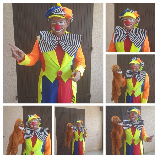 Clown à treigny | clown magicien ventriloque a treigny