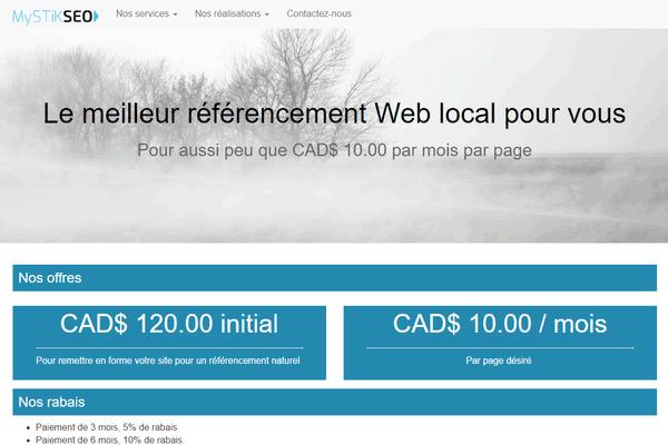 img annonce Référencement à Joliette | SEO pour votre site Web, référencement naturelle pour les moteurs de recherche
