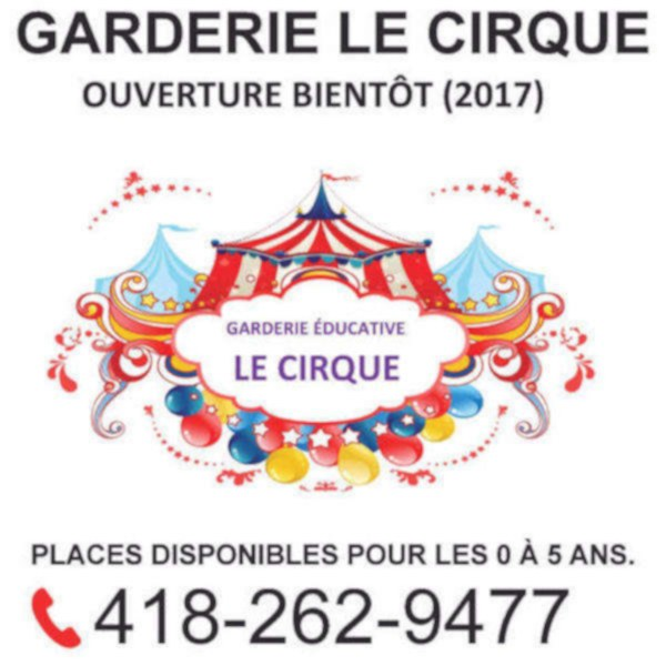 img annonce GARDERIE LE CIRQUE