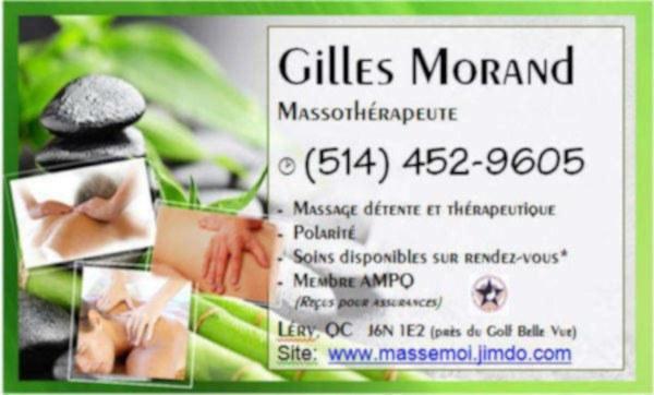 Men`s massage pour hommes - léry
