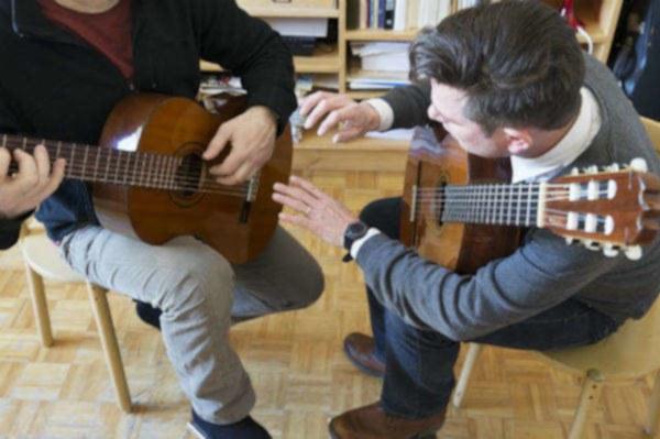 Cours de guitare - guitar lessons