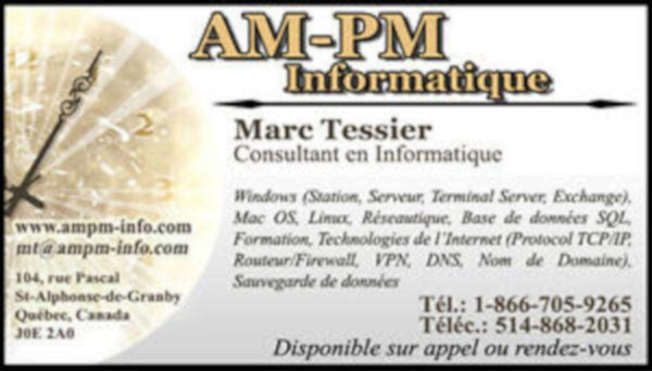 img annonce Service Informatique Granby