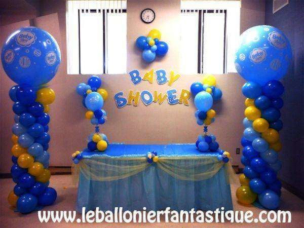 Meilleur une belle d coration pour votre baby shower - Decoration pour baby shower ...