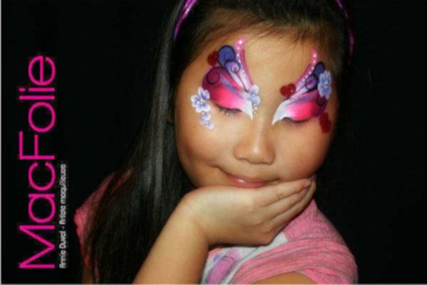 Maquillage pour enfants / www.macfolie.com