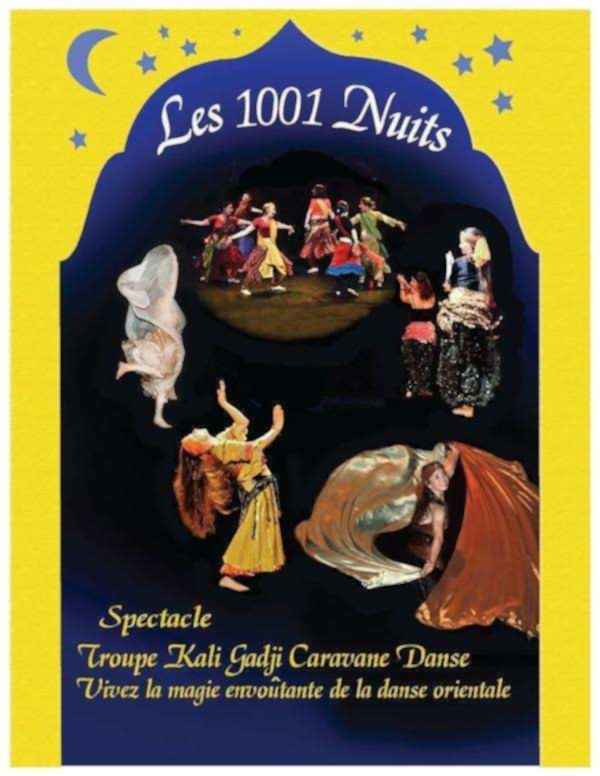 Spectacle de danse les milles et une nuits