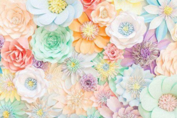 Murale de fleurs g?antes et autres