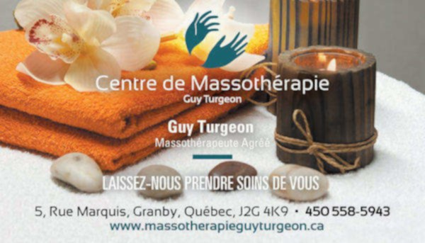 Centre de massothérapie guy turgeon