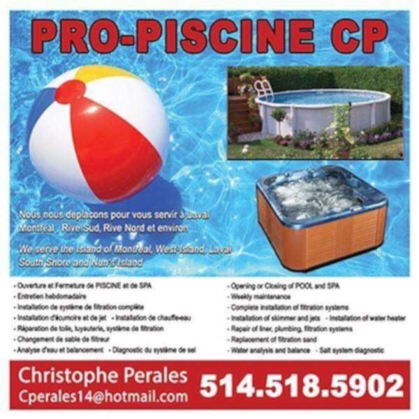 Meilleur service ouverture et maintenance piscine creus e - Reparation piscine laval ...